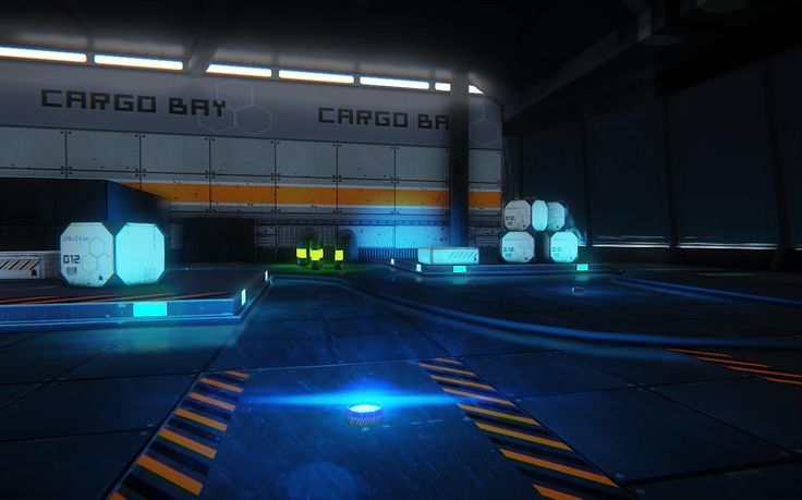 Sci-Fi Cargo Bay with Low Poly Assets which were made in 3Ds Max. Textures: Photoshop, Render: CryEngine 3