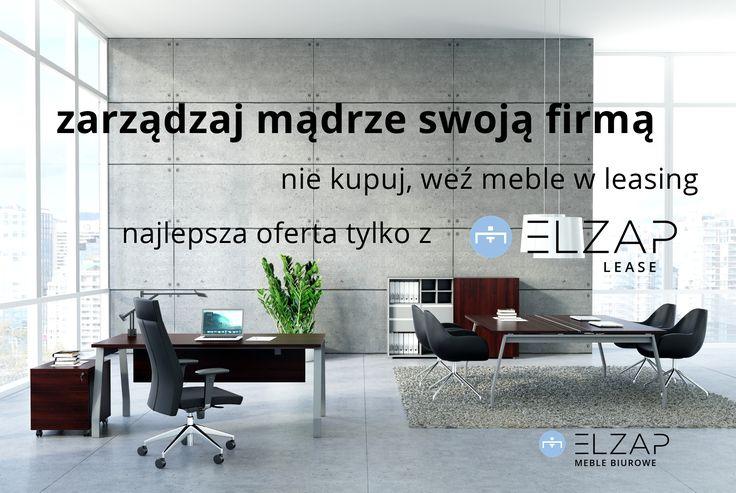 Szukasz najdogodniejszej formy finansowania zakupu mebli do swojego biura ?  Nasza oferta jest własnie dla Ciebie ! #elzap #meble  #biuro #biurko #krzesło #gabinet #wnętrze #finansowanie #leasing