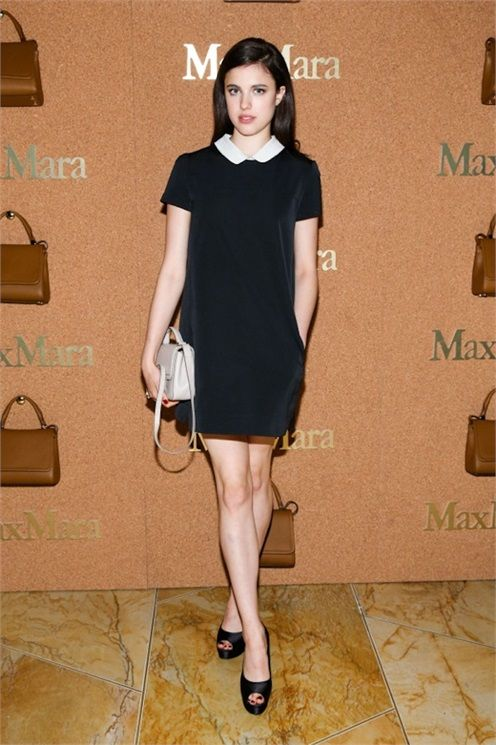 Margaret Qualley in Max Mara