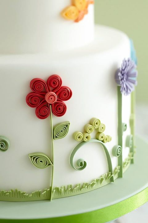 Cake Decorating Quilling : Best 25+ Quilling Cake ideas on Pinterest Quilted cake ...