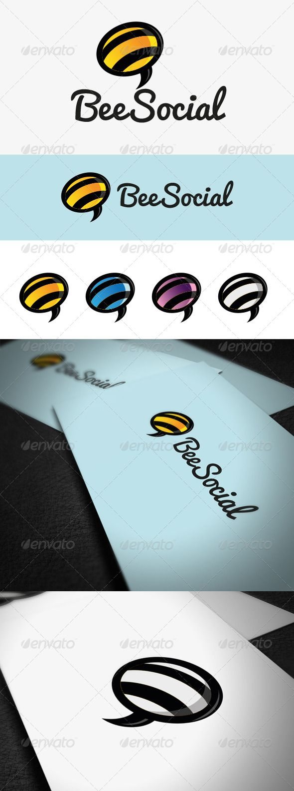 62 best logo templates images on pinterest logo templates font bee social graphicriver colorful logo depicting the king of jesters easy to edit with biocorpaavc Images