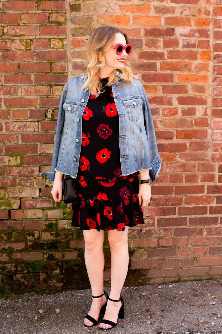 Red Accessories- Kate Spade Poppy Dress - Pretty in Pink Megan