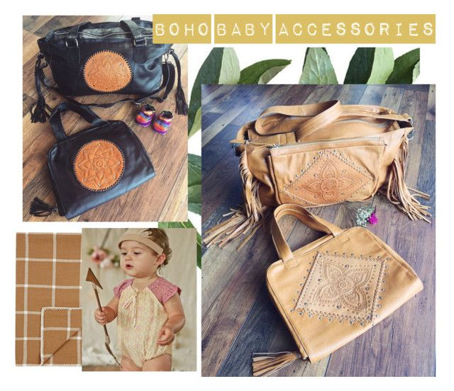 """Boho Baby Accessories"" by mahiyaleather on Polyvore featuring Alicia Adams"