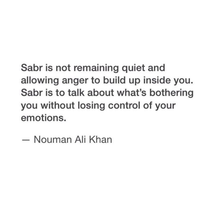 Sabr   Patience