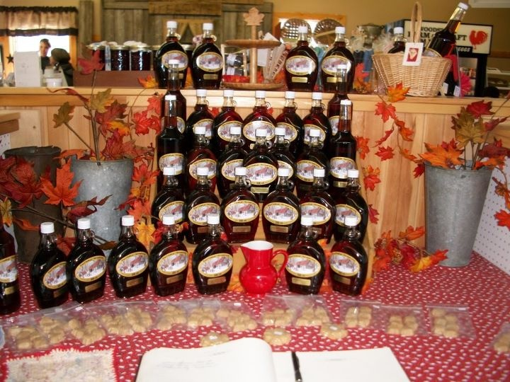 McLellan's Maple products available at the Market