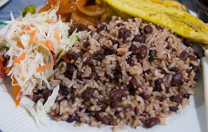 Gallo Pinto – a nutritious concoction of fried rice and boiled beans ...