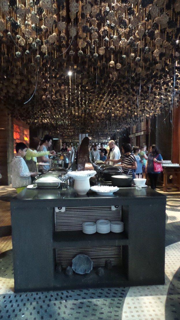 Buffet Breakfast at the Centara Grand Mirage Beach Resort Pattaya, Thailand