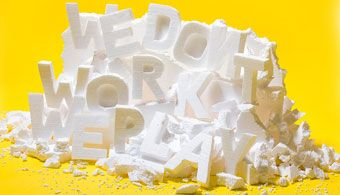 Playful Type Experiment Featuring the Importance of Play at Work