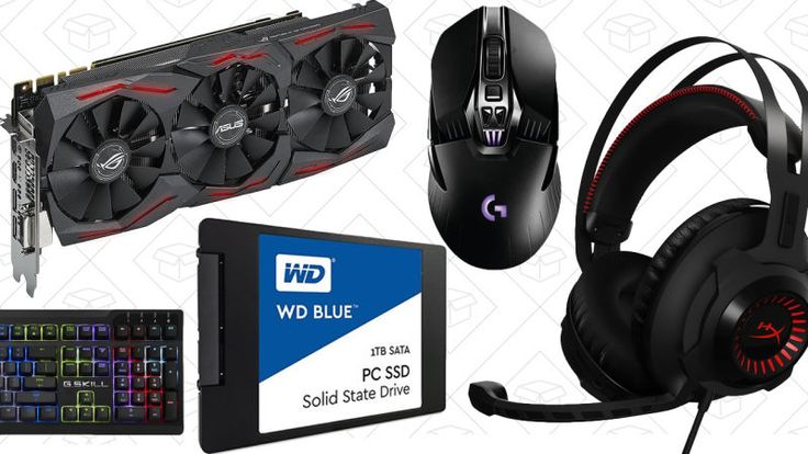 To celebrate GDC 2017, Amazon's taking an extra 20% off select gaming peripherals, PC components, and even complete gaming laptops and desktops today with promo code GDC20.