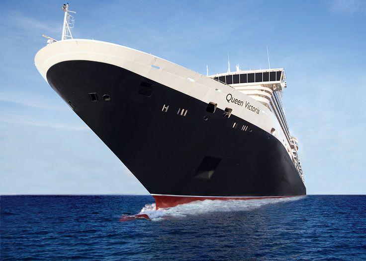Queen Victoria at sea.