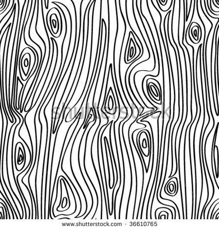 Vector Seamless Wooden Pattern By Digital N Via