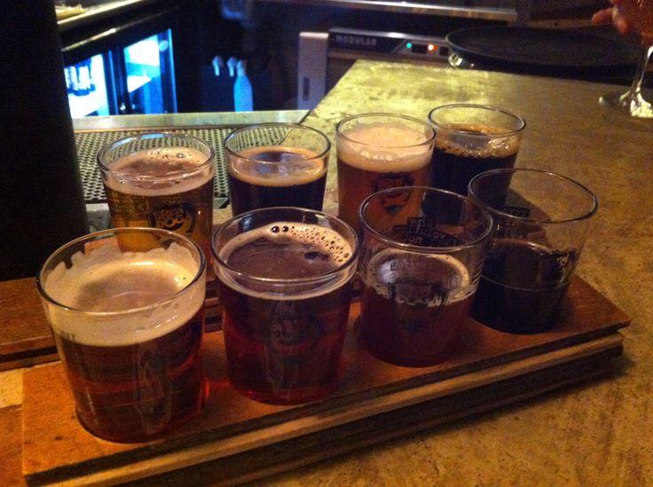 Beer tasting at Brewdog restaurant St Eriksgatan