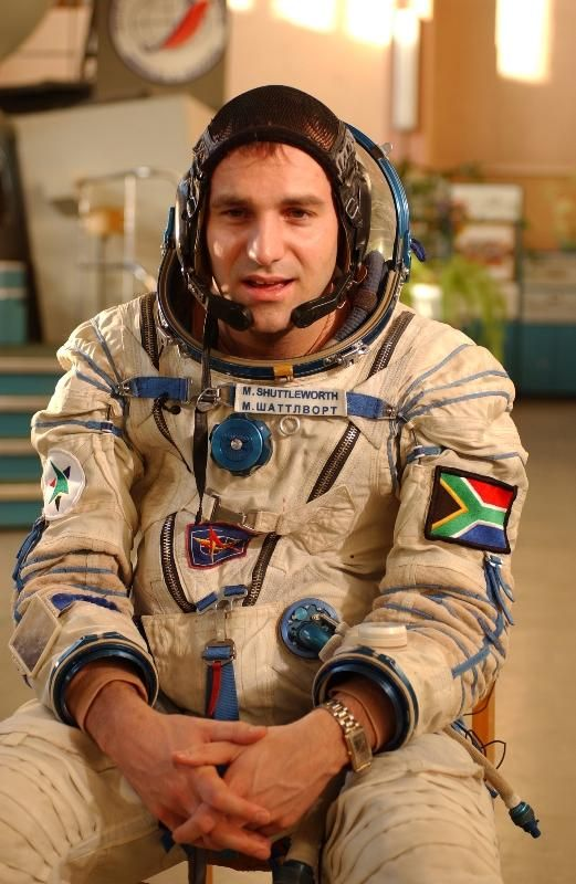 Mark Shuttleworth, gained worldwide fame on 25 April 2002 as the second self-funded space tourist and the first-ever African in space.