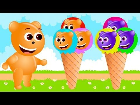 Mega Gummy bear baby Attacked by Giant Sandwich finger family crying funny cartoon videos fro kids - YouTube