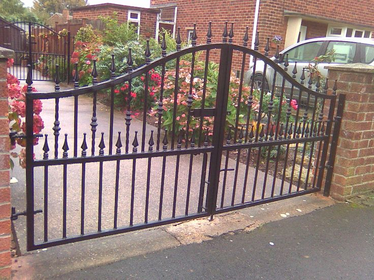 iron fences and gates | wrought iron we manufacture and supply wrought iron railings made to ...