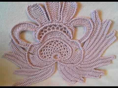 irish crochet pattern part 17