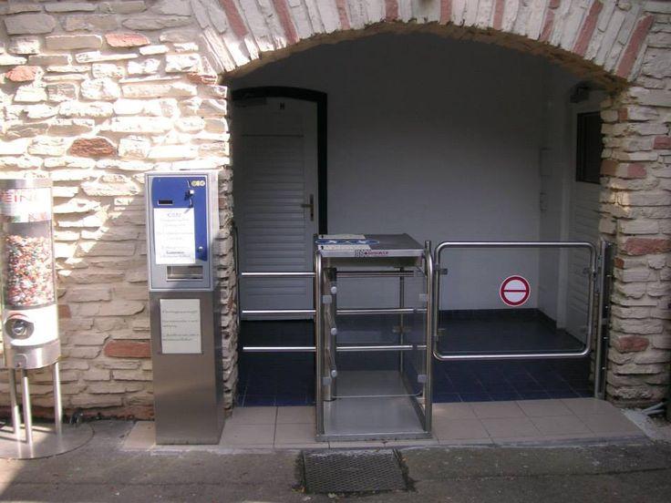 Турникет Gotschlich с платежной системой TRINITY http://vk.com/gotschlichrus #turnstiles #турникеты #готшлих #gotschlich