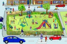 illustration 'playground'