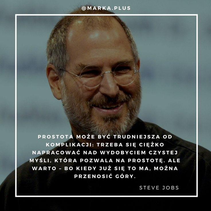 inspirujący cytat Steve'a Jobsa