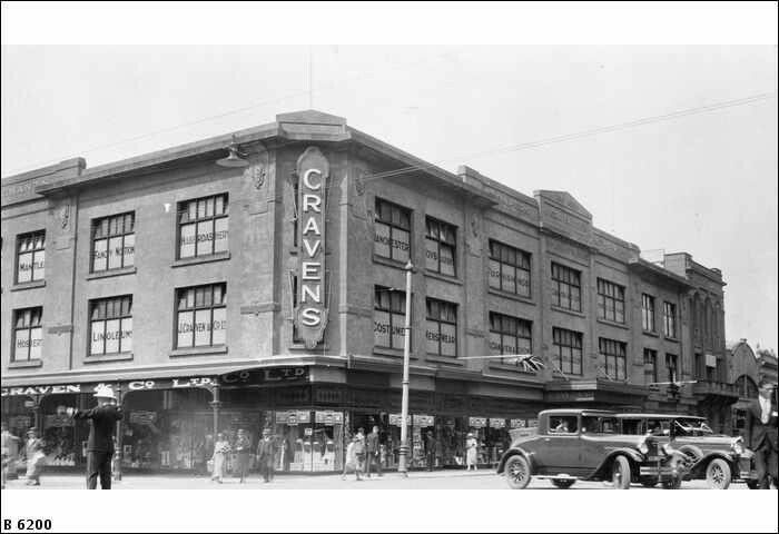 J.Cravens Department Store in Adelaide,South Australia. State Library of South Australia.