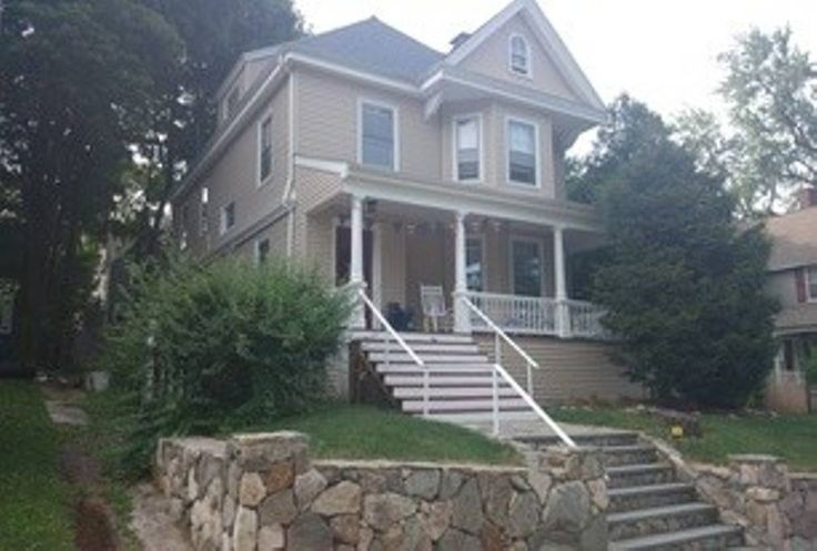 House in Boston, United States. Welcome to the 'ur-burbs'~~!  This Single Family Victorian is located in West Roxbury, the furthest neighborhood in Boston.  Very family friendly and super community atmosphere.  The house was built in 1880 and maintains original hardwood and peri...