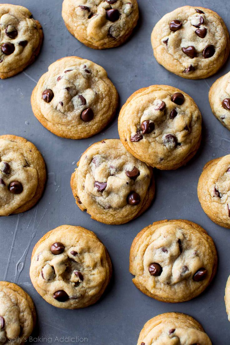 Soft-batch style chocolate chip cookies