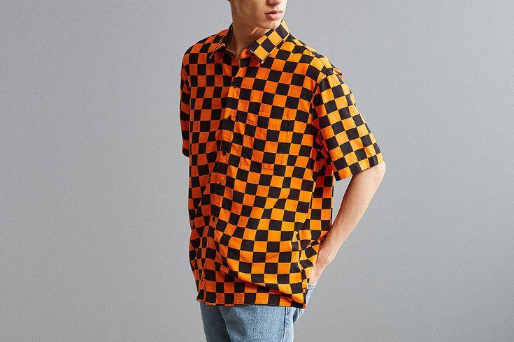 Urban Outfitters Checker Print Shirt