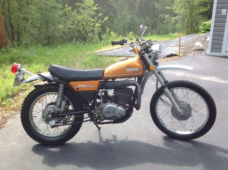 1974 Yamaha DT250A Enduro Motorcycle   eBay
