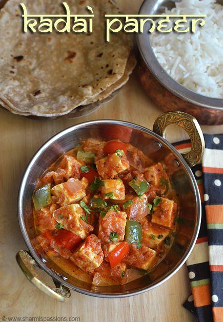 Mutter Paneer - Matar Paneer - Paneer Peas Masala Recipe | Sharmis Passions