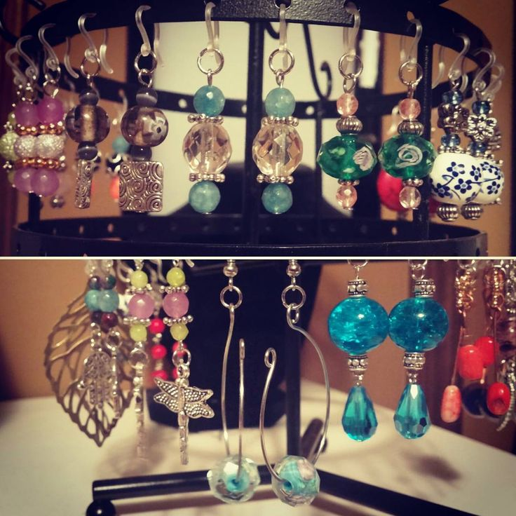 """31 Likes, 2 Comments - Beyond the Wire Jewelry (@beyondthewirejewelry) on Instagram: """"It's been a busy night making all kinds of new earrings! 💁❤👍 #newitems #busy #makeallthethings…"""""""