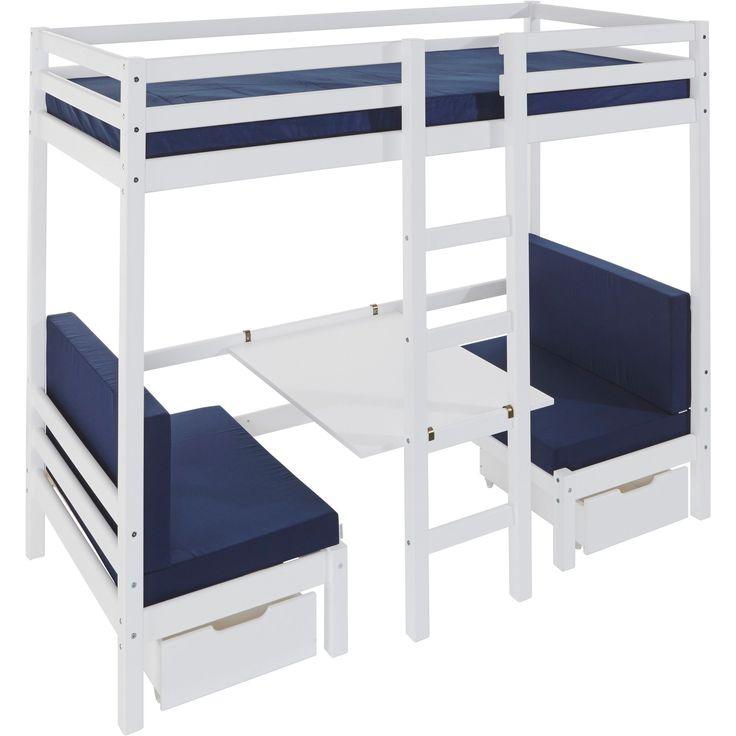 1000 id es sur le th me lit en hauteur sur pinterest. Black Bedroom Furniture Sets. Home Design Ideas