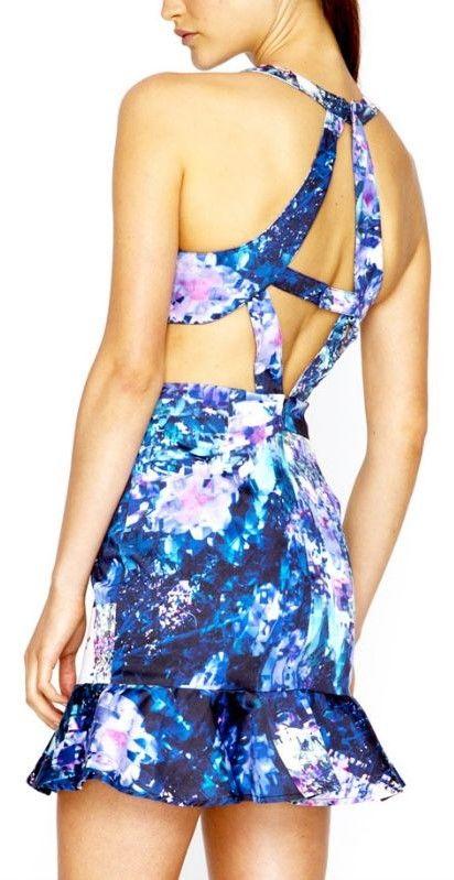 Talulah Cross-back Dress