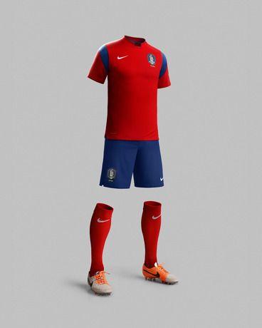 South Korea Football Jersey '14