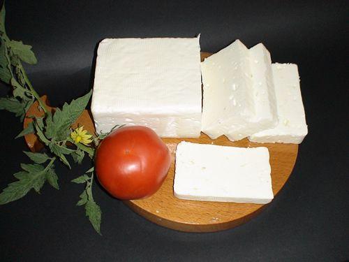 the famous greek feta cheese