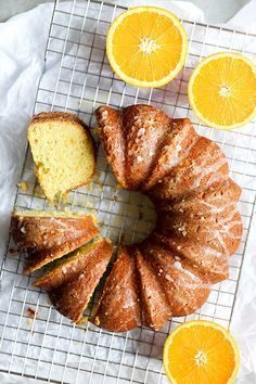 Browned Butter Whole Orange Cake | http://www.floatingkitchen.net