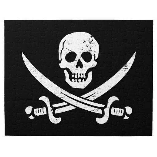 john rackham calico jack pirate flag jolly roger jigsaw puzzle tattoo inspiration pinterest. Black Bedroom Furniture Sets. Home Design Ideas