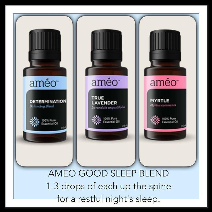 Ameo Essential Oils Good Sleep Blend To order Ameo essential oils please visit www.lovinghealth.myameo.com