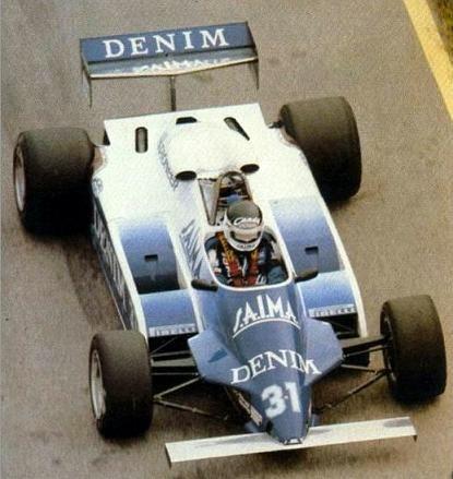 1982 Osella FA1C - Ford (Jean Pierre Jarier)