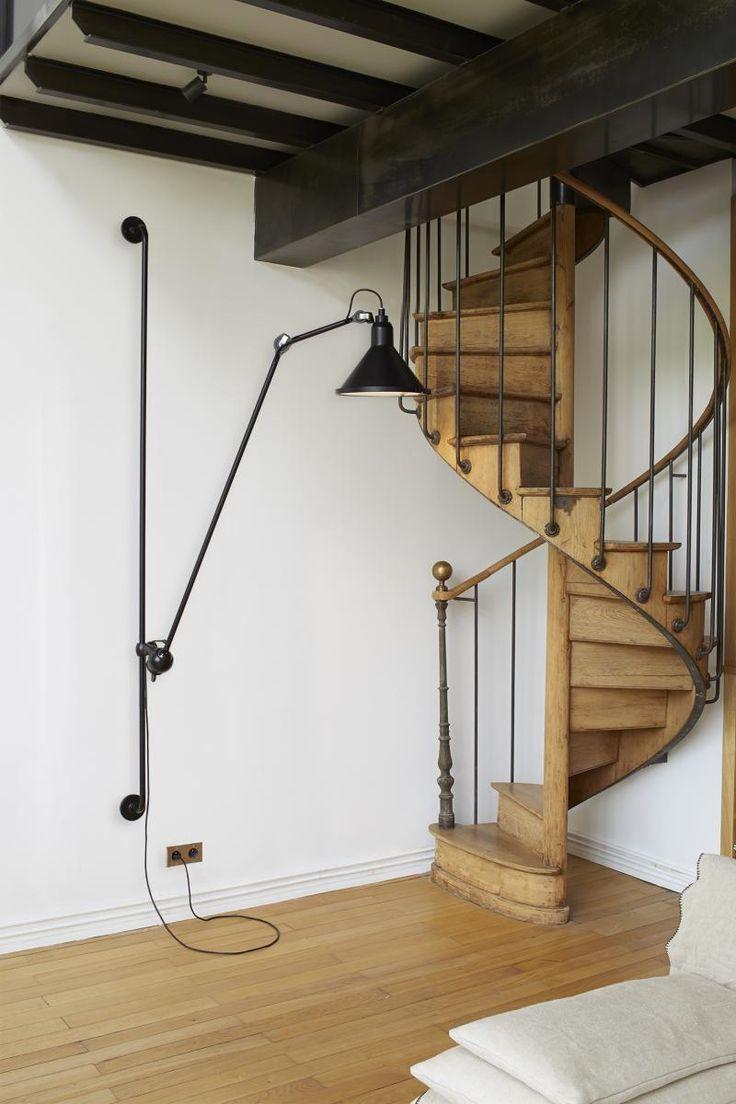 No 214 Xl Wall Light In Black 1170 La Lampe Gras From Spence Lyda Lestnichnye Konstrukcii Dizajn Evropejskih Domov Dizajn Doma