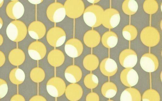 Amy Butler Martini Mustard Fabric Half Yard by luckykaerufabric