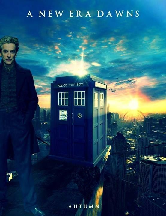 Peter Capaldi. Doctor Who.  Series 8 August 2014.