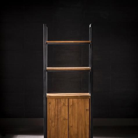 Cinta Bookcase With Two Doors And Two Shelves Could this be used as a bar?