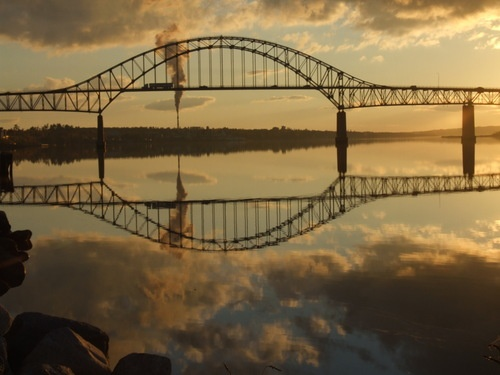Centennial Bridge, Miramichi, New Brunswick