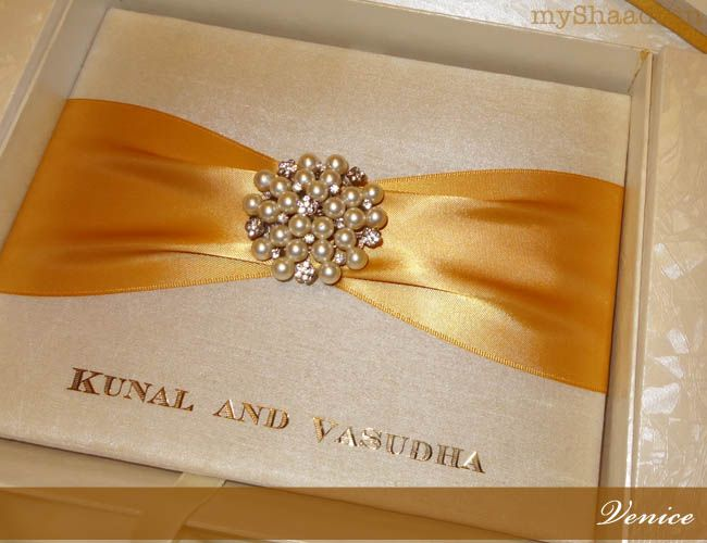 Luxury Invitations for a Royal Indian Wedding | Myshaadi.in