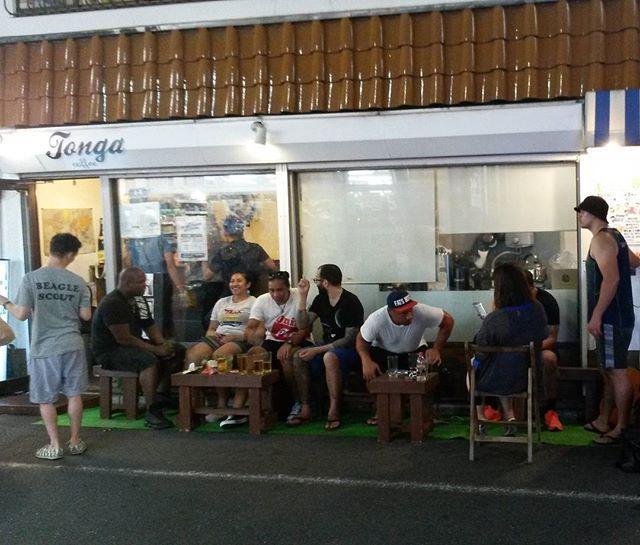 お越し頂きありがとうございました。またよろしくお願いします We love our customers, thank you all 🍻  #TongaCoffee #yoyogi #japan #tokyo #coffee #beer #happyhour #TooSweet #GoodCoffee #記念日 #コーヒー #ビール #ハッピーアワー #ワイン #カクテル #代々木 #トンガコーヒー #渋谷 #新宿 #東京