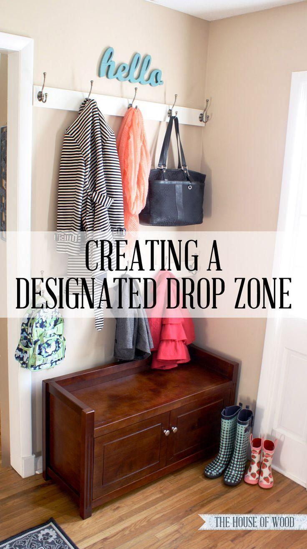 Foyer Mirror Zone : Best ideas about organized entryway on pinterest