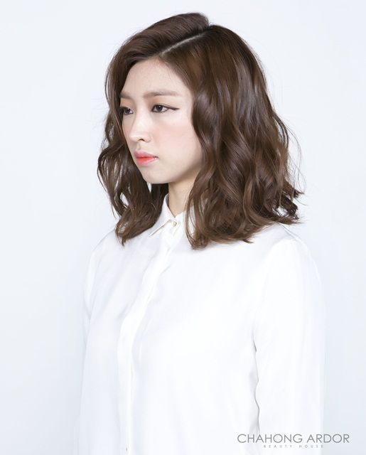 21 best Digital perm- shoulder length hair images on ...