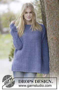 Met dit gratis breipatroon kun je een trui breien met de ribbelsteek, boordsteek en tricotsteek. Dit is een goed patroon voor beginners van truien breien.