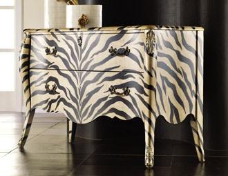 Safari Chic - Animal Print Furniture & Accents on Joss and MainuZora Bombs, Painting Furniture, Hooker Furniture, Living Room, Prints Design, Bombs Chest, Animal Prints, Zebras Prints, Melange Zora