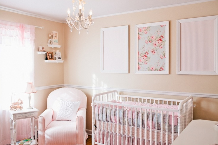 Since Little Aviana S Furniture Is White This Soft Tan Paint Color With The Pale Pink